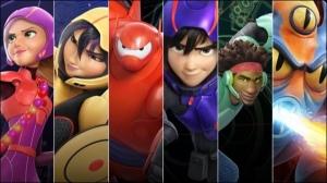 personnages les nouveaux héros